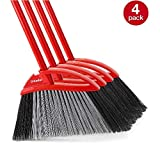 O-Cedar Power Corner Large Angle Broom (Pack of 4)
