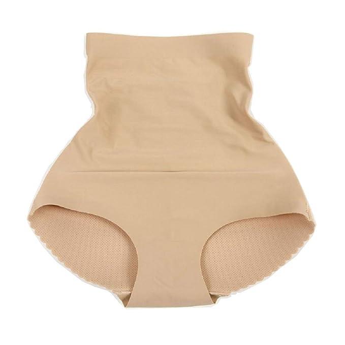 b787e037f9e Junning Padded Panties Seamless Bottom Buttocks Push Up Lingerie Women s  Underwear Butt Lift Breathable Briefs Amazing