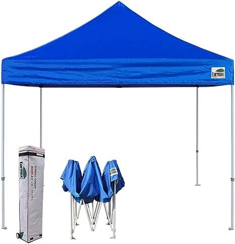 Eurmax Basic Ez - Tienda de campaña con toldo Plegable (10 x 10 cm, con Bolsa de Rodillo): Amazon.es: Jardín