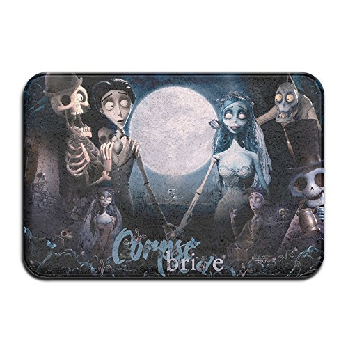 Tim Burton's Corpse Bride Halloween Anti-slip House Garden Gate Carpet Door Mat Floor Pads