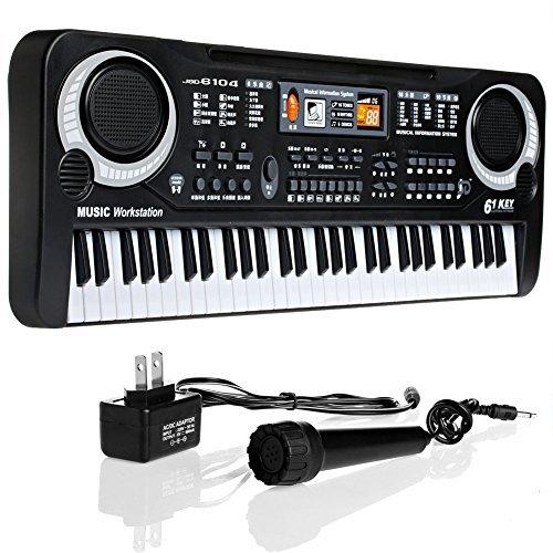 Arich 61 Keys Digital Music Electronic Keyboard Key Board Gift Electric Piano Gift