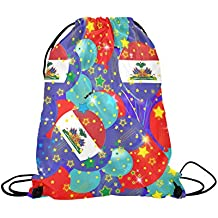 Drawstring Bag,Haitian Backpack,Sport Bag Can Be Customized/Personalized With Name