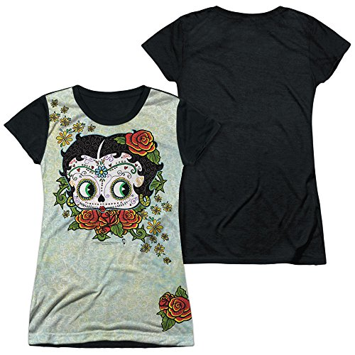 Betty Boop - Sugar Boop Adult All Over Print 100% Poly T-Shirt L
