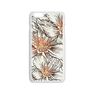 The Beautiful Flowers Hight Quality Plastic Case for Iphone 6
