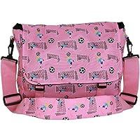 Wildkin 27030 Girl Soccer Messenger Bag