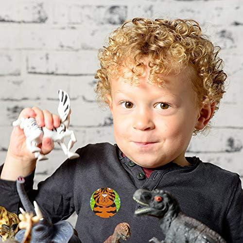 500Pcs Tier Belohnungs /& Incentive Aufkleber f/ür Kinderzimmer Schule Lehrer Use Giveaways Geschenken Zoo Tier Animal Sticker Rolle f/ür Kinder Mitgebsel Kindergeburtstag