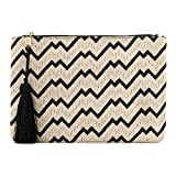 Otto Designer Women's Bohemian Clutch Purse - Multiple Slots Money, Cards, Smartphone - Ultra Slim (Heartbeat)