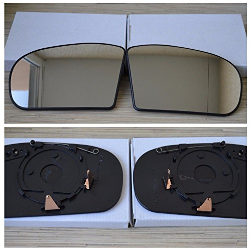 Bross BDP182FBA 2 Pieces Sun Visor Shade Mirror Cover Gray Color For Mercedes W210 W211 Left And Right Sides Bross Auto Parts