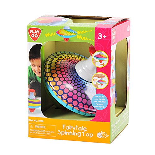 PlayGo Fairytale Spinning Top (Colors and Designs May Vary) Baby Toy by PlayGo