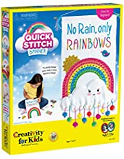 Creativity for Kids  – Kids Cross Stitch Rainbow Kit