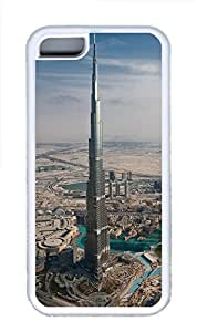 iPhone 5C Cases & Covers - Burj Khalifa TPU Custom Soft Case Cover Protector for iPhone 5C¿CWhite