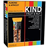 KIND Bars, Almond & Apricot, Gluten Free, 1.4oz, 12 Count