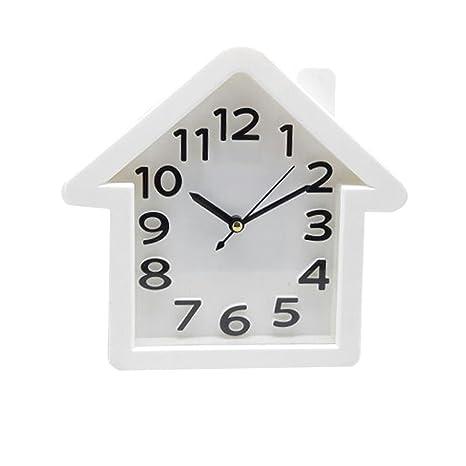 a8f32aff8 Buy Tuelip Plastic Analog Triangle Shape Wall Clock (12 cm x 5 cm x 5 cm