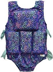 My Pool Pal Girl's Swimwear Flotation Life Vest Swimsuit - 7