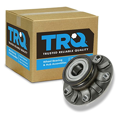 (TRQ Rear Wheel Hub & Bearing Left or Right for Audi Eos Golf GTI Rabbit A3 VW)