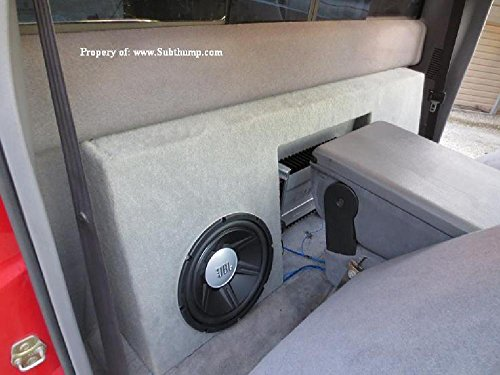 94-01 Dodge Ram Regular Cab Dual 12 Subwoofer Box With Amp Space