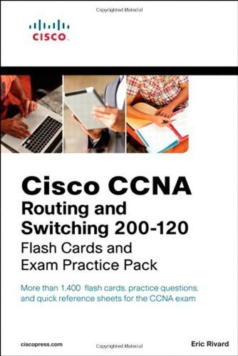 CCNA Routing and Switching 200-120 Flash Cards and Exam Practice Pack (Flash Cards and Exam Practice Packs) 1st (first) by Rivard, Eric (2013) Paperback pdf