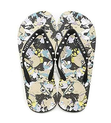 KRUZIN Multi Color Flip Flops Slipper For Men