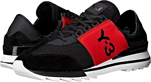 adidas Y-3 by Yohji Yamamoto Women's Rhita Sport Core Black/Scarlet/Core Black Athletic Shoe