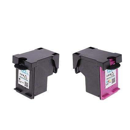 IPOTCH 2pcs Cartucho de Tinta 122XL Accesorios de Impresora ...