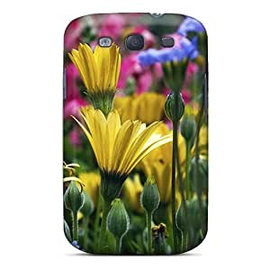 Galaxy S3 IbA67Bjfg Flowers Tpu Silicone Gel Case Cover. Fits Galaxy S3