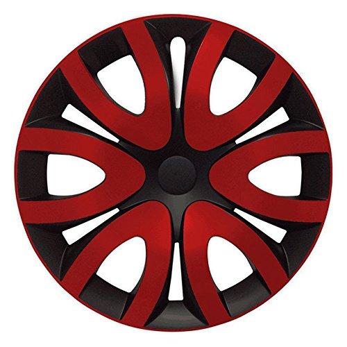 13 Zoll Radkappen // Radzierblenden GANI Gr/ö/ße w/ählbar passend f/ür fast alle Fahrzeugtypen universal Schwarz