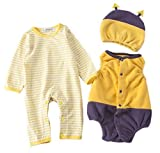 StylesILove Infant Toddler Chic Halloween Baby Boy 3-PC Costume Set With Hat
