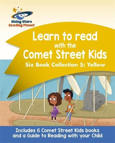Reading Planet: Learn to read with the Comet Street Kids Six Book Collection 5: Yellow pdf