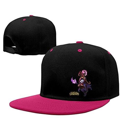 [Boss-Seller UnisexFunny League Game League Running Hit Hip Hop Baseball Cap Pink] (One Up Mushroom Costume)