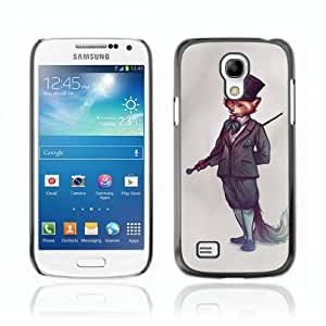 Designer Depo Hard Protection Case for Samsung Galaxy S4 Mini / Sophisticated Fox