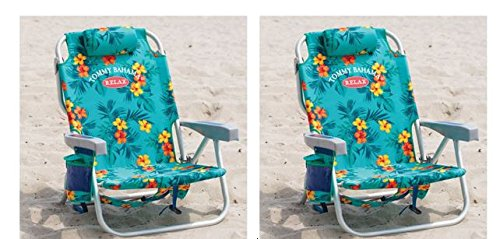 2-tommy-bahama-backpack-cooler-chair-with-storage-pouch-and-towel-bar-turquoise-turquoise