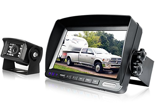 Backup Camera System Kit,SHARP CCD Chip, 100% Not Wash Up,IP69 Waterproof Rear...