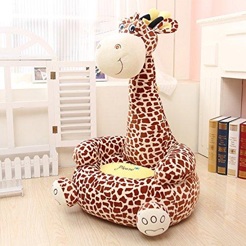 MAXYOYO Super Cute Plush Toy Bean Bag Chair Seat for Children,Cute Animal Plush Soft Sofa Seat,Cartoon Tatami...