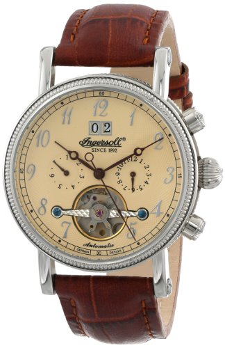 Ingersoll Men's IN1800CR Richmond Automatic Watch with Brown Band