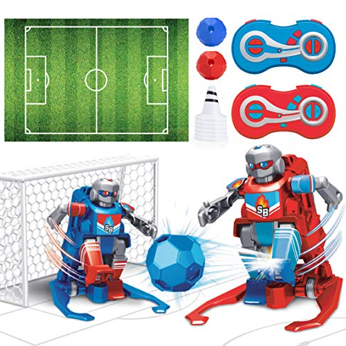 USA Toyz Soccer Bots Robot Kids Toys - Soccer Robots for Kids, RC Game w/ 2 Remote Control Robot Toys (Red and Blue)
