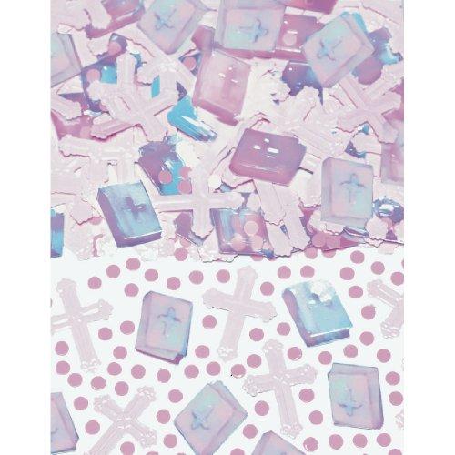 Pink Cross Confetti (Pink Cross Confetti)