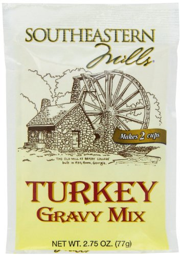 Southeastern Mills Gravy Mix, Turkey, 2.75-Ounce (Pack of 12)