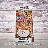 ilyas Gonen Dibek Ground Turkish Coffee/Plain Dibek and 19 Different Flavored (100g / 3,5oz) (Pomegranate Flavored Ground Turkish Coffee) -  Dibek Kuru Kahve