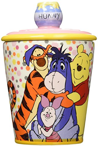 Westland Giftware Ceramic Toothbrush Holder, Disney Winnie The Pooh Best Friends