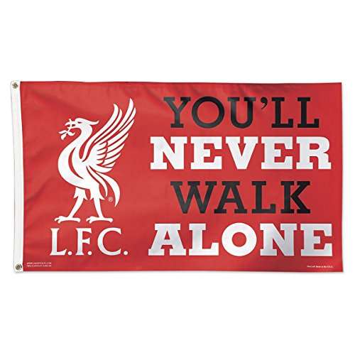 WinCraft Liverpool Football Club You'll Never Walk Alone Logo - Flag Liverpool