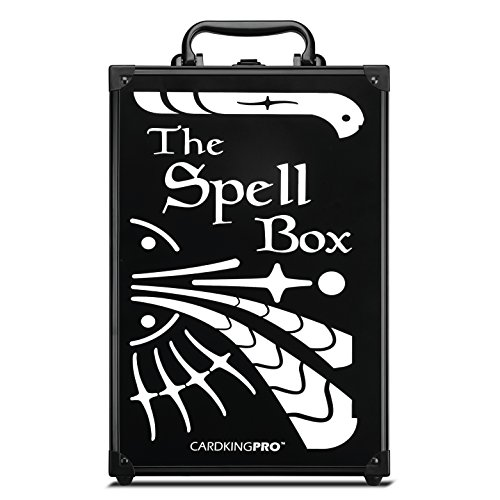 Game Card Storage Case (PRO/MTG Edition) | Suitable for Magic The Gathering, Yugioh, and Other TCG Etc (Game Not Included) | Includes 8 Dividers | Fits up to 2000 Loose Unsleeved Cards