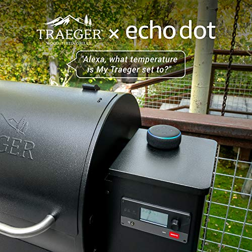 Traeger Grills TFB57GZEO Pro Series 575 Grill bundles with Echo Dot (3rd Gen) Charcoal