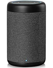 GGMM D6 Lautsprecher & Ladestation für Amazon Dot (2. Generation) 360°-Sound, 20W, 5200 mAh
