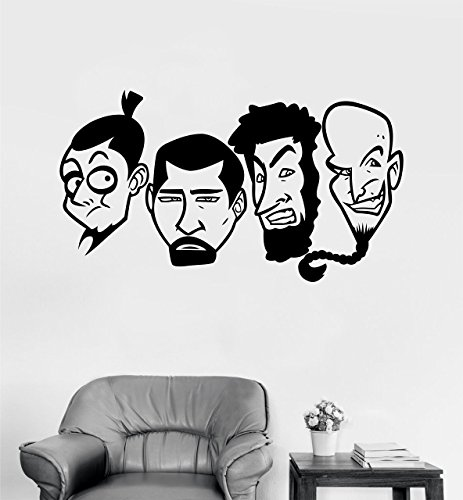 System Of A Down Wall Decal for Living Rooms, Bedrooms/Alternative Rock Music Wall Decal Sticker for Interior Decoration (System Rock)