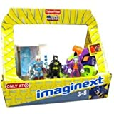 imaginext mr freeze batman - Imaginext Exclusive DC Super Friends Easter Basket with Mr. Freeze, Batman, The Joker, Joker Car & Freeze Chamber