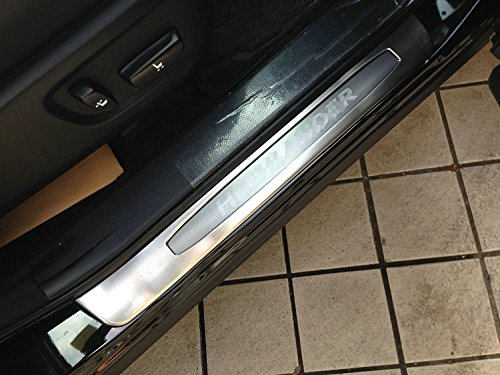 Front Door Sill Scuff Plate Guard Cover Trim Fit for Toyota Highlander 2015 2016 2017 2018 2019-2PCS Kate Wenzhou automobile supplies factory