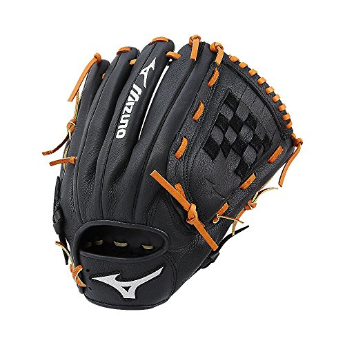 Mizuno Prospect Select Gpsl1200 Youth Utility 312569 Baseball Mitts, Size 12, Black - Utility Youth Baseball Glove