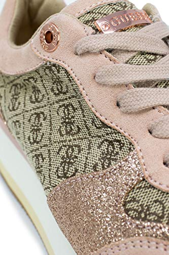 Beige Guess Fal12 Active Hinders Scuro Sneakers Donna Lady Fl5hnd rSr0awq