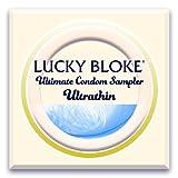 LUCKY BLOKE Luxury Thin Condoms - International ULTRA THIN Condom Sampler -...