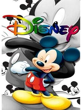 Disney taglia unica 30 x 40 cm pittura a mosaico con perline 5D motivo Topolino 1 strumento